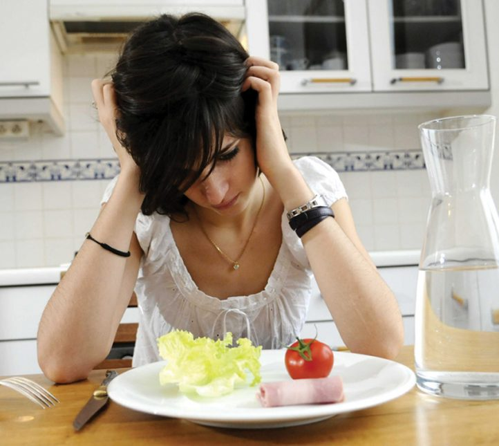 Teenager suffering from anorexia - 19 Dec 2008