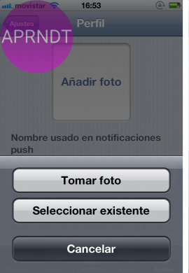 cambiar tu foto de perfil whatsapp iphone